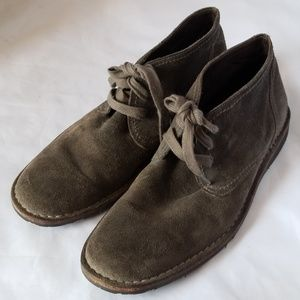 John Varvatos USA Gray Suede Leather Ankle ⭐